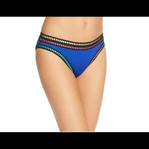 La Blanca Threading Along Swim Bikini Bottom (a01)